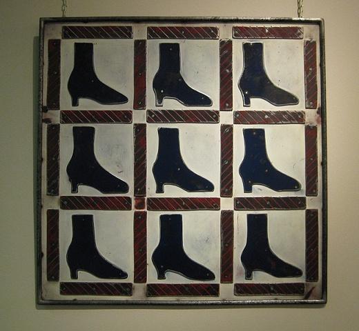 Practically Patriotic Shoe Quilt