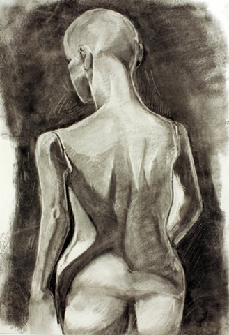 Figure drawing from still-life