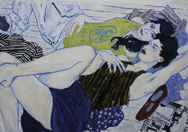 Painting I, Color Study (after Hope Gangloff)