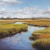 """Marsh River Reflections"""