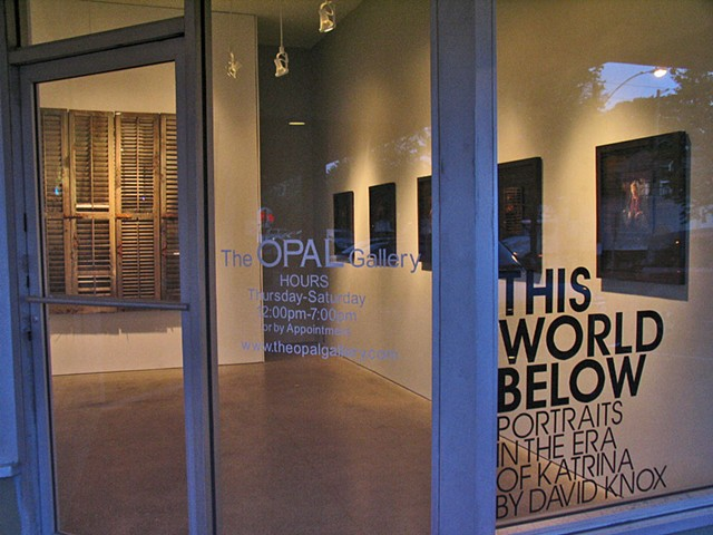 This World Below, Opal Gallery, Atlanta, GA