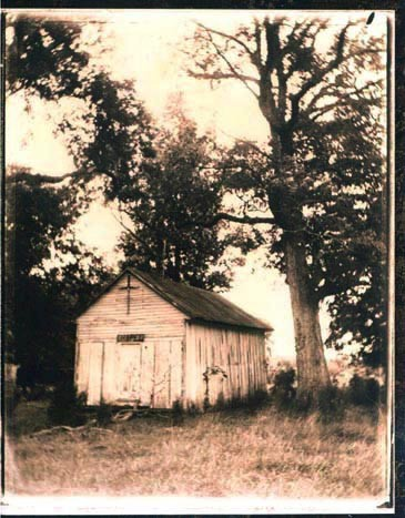 Tintype. Southern photography