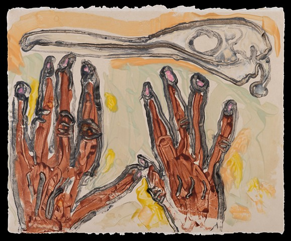 Hands and Bone
