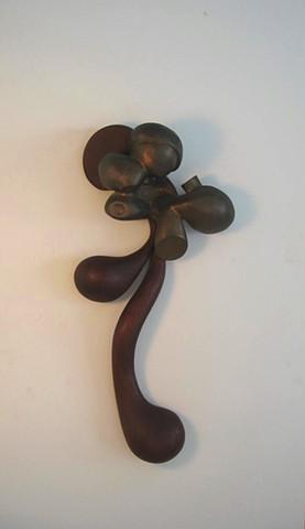 Study in Bronze & Wood