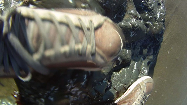 Submersion: The Spiritual Language of Water Three Channel Digital Video, TRT 19 minutes