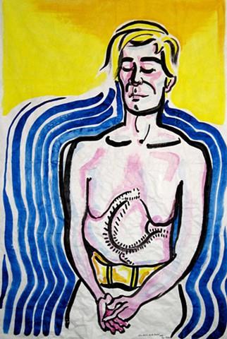 Alice Neel's Andy Warhol 2009