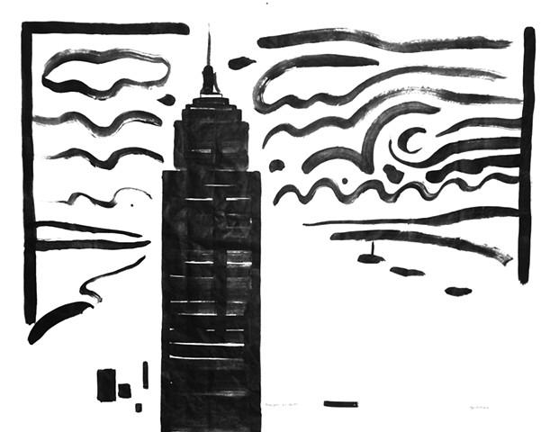 NY Harbor Graffiti 2012