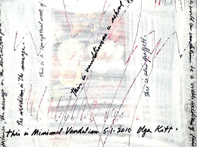 Minimal Vandalism, detail 2010