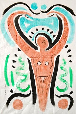 Prehistoric Dancers 2009