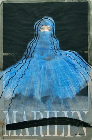Blue Marilyn 2010