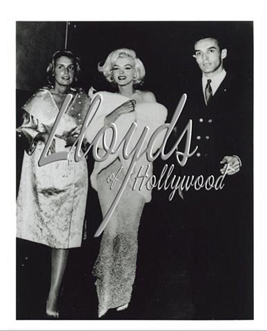 MARILYN MONROE MILLION $$ NUDE DRESS JFK PARTY 1962