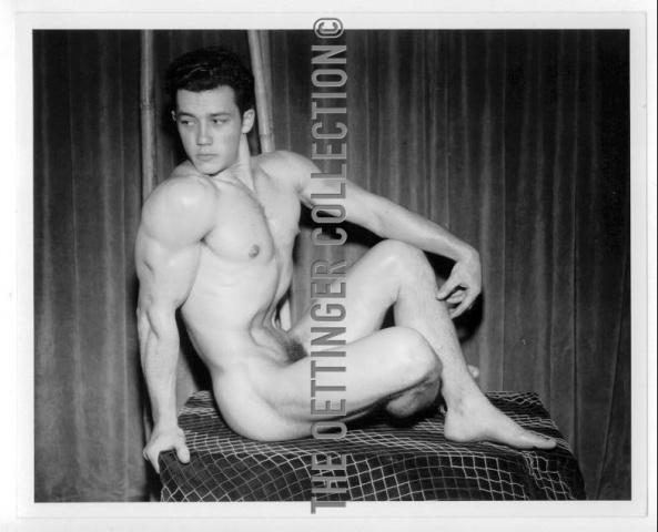 JIM PARK MUSCLE PHYSIQUE MALE NUDE 1949