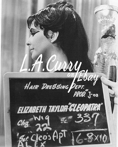 ELIZABETH TAYLOR UNSEEN COSTUME TEST 1962