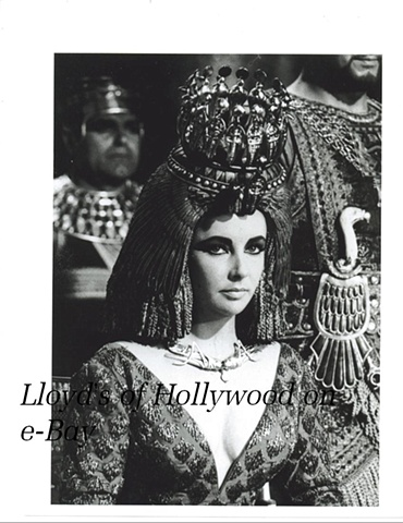ELIZABETH TAYLOR CLEOPATRA ROYAL CROWN TEST 1962