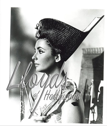 CLEOPATRA COSTUME TEST PHOTOGRAPH