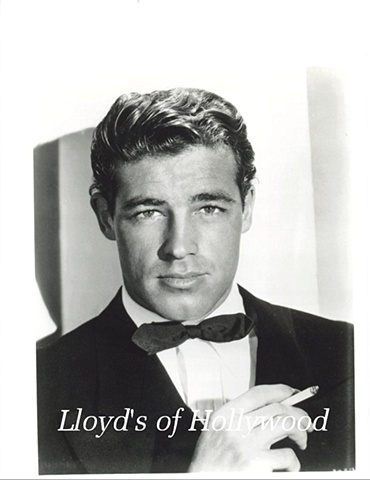 GUY MADISON HUNK IN BLACK TIE 1945