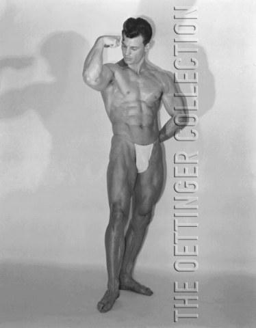 GEORGE O'MARA PHYSIQUE BEEFCAKE  GOLDEN ERA PHOTOGRAPH