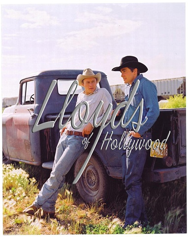 HEATH LEDGER JAKE GYLLENHAAL BROKEBACK MOUNTAIN LOVERS