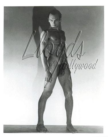 YUL BRYNNER BEEFCAKE NUDE PRE HOLLYWOOD 1942