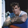 GUY MADISON HANDSOME MUSCULAR HUNK T-SHIRT 1943
