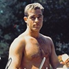 GUY MADISON NAVY HUNK BARECHESTED PRE HOLLYWOOD 1943