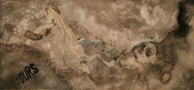 Advanced Drawing 1: Mixed Media Abstraction