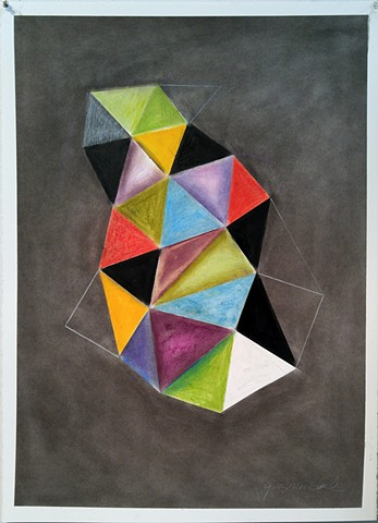 Geometric abstraction on paper