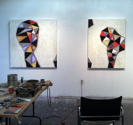 Illuminations 1 & 2 in studio 2016
