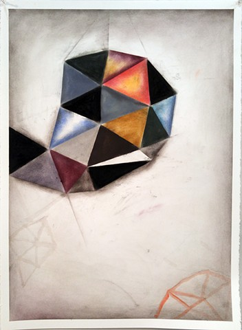 Geometric abstction on paper