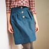 Denim Alison Skirt