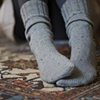 Tweed Merino Boot Socks