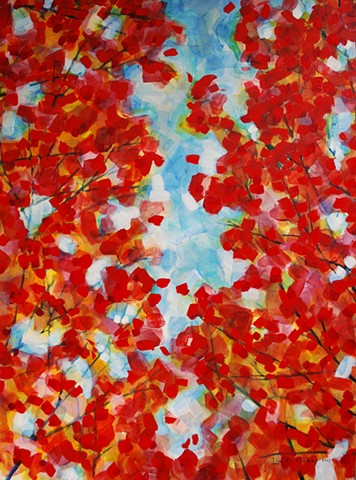 Fall Crevasse - SOLD