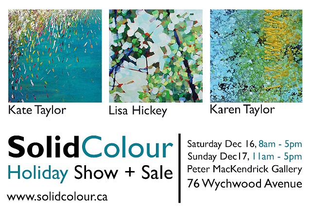 SolidColour Holiday Show at Wychwood Barns!