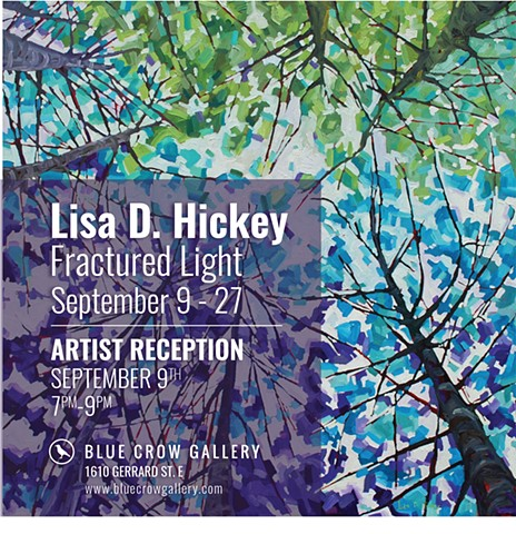 Solo Exhibition at Blue Crow Gallery - Fractured Light