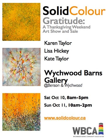 GRATITUDE - A SolidColour Exhibition - Wychwood Barns, Oct 10+11