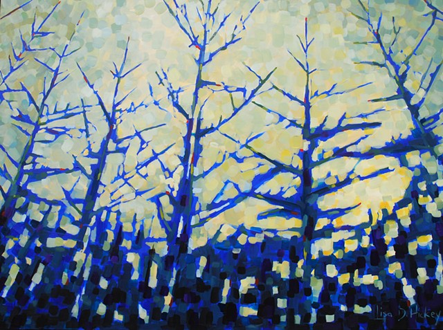 landscape acrylic painting artwork oil painting abstract Canadian artist