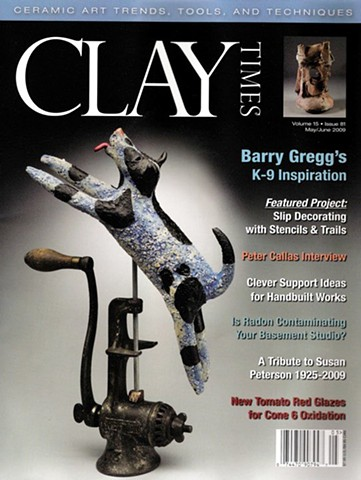 """Clay Times"" Magazine Cover"
