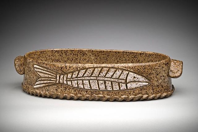 Oval Fish Casserole