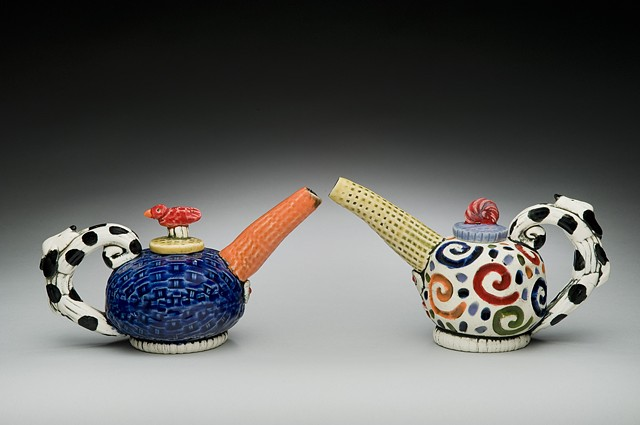 Oil Can Teapots