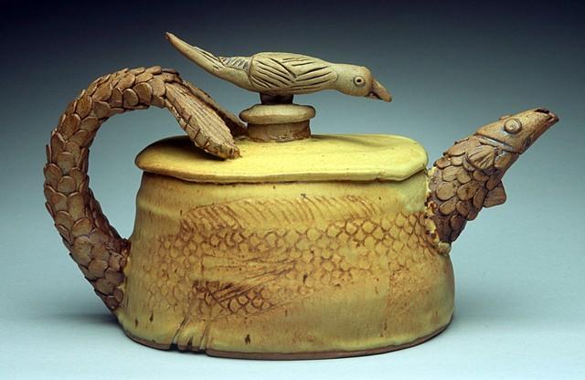 Fish & Fowl Teapot