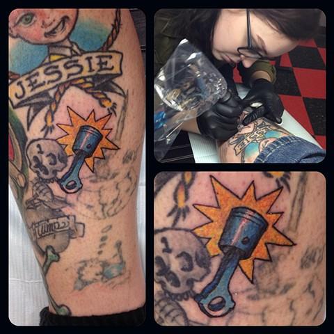 Mackenzie Meyers - Piston Tattoo