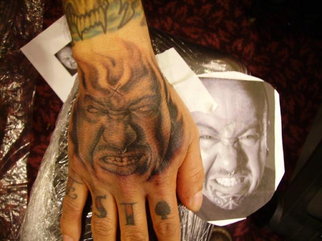 Tattoo Artist Manuel Vega