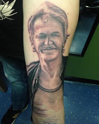 Ron Meyers Dad Portrait Tattoo