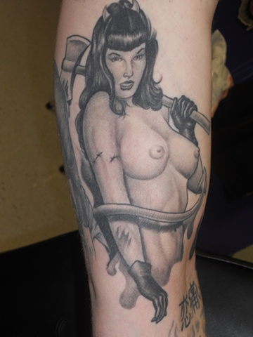 Ron Meyers - Bettie Page Devil Chick