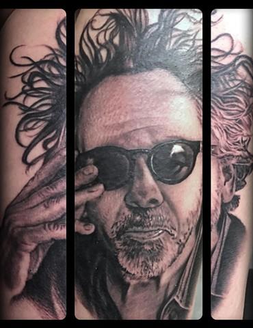 RonMeyers - Tim Burton Portrait Tattoo