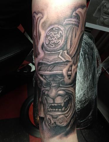 Ron Meyers - Samurai Tattoo