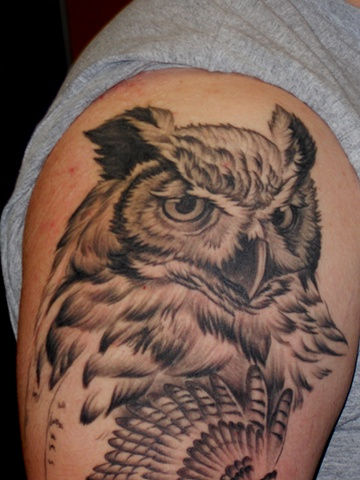 Ron Meyers - Owl (sleeve in progress)
