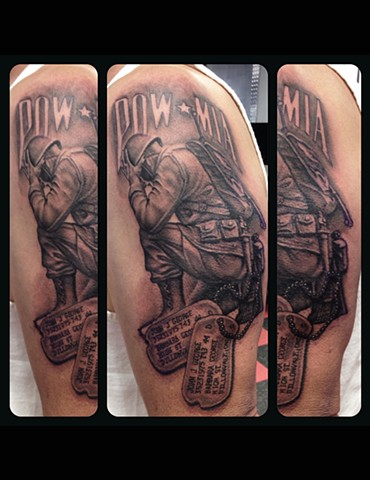Ron Meyers - POW/MIA TATTOO