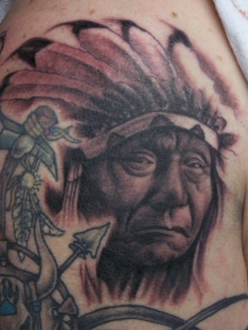Ron Meyers - Indian Chief
