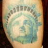 Ron Meyers - Statue of Liberty (bad pic taken a year after the tattoo was done & unshaved)